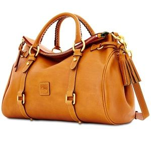 Dooney & Bourke Florentine Satchel -Natural